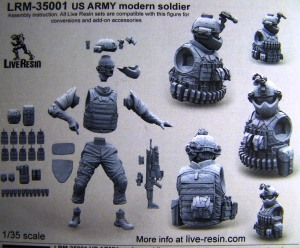 LRM-35001 US Army Modern Soldier Box rear (2)