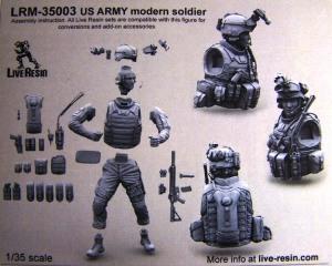 LRM-35003 US Army Modern Soldier Box rear