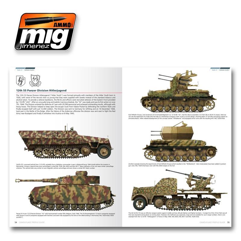 AMMO of Mig Jimenez – Waffen SS Colors: Camouflage Profile