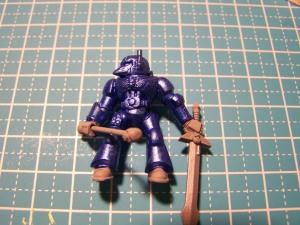 8 Blue Kinght basic paint