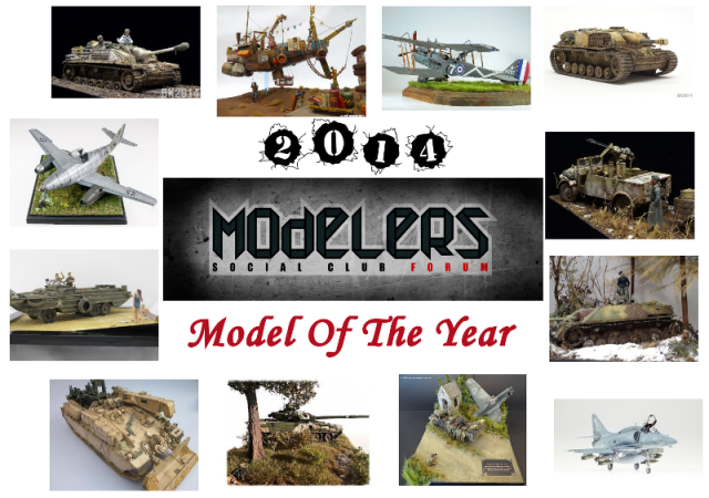 Modelers Social Club ~ Model of the Year for 2014   MSC