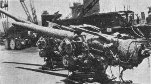 127_mm_L51_guns_salvaged_from_USS_Arizona_(Bb-39)_c1942