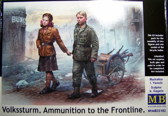 Volkssturm - Ammo to the frontline Box Front (800x554)