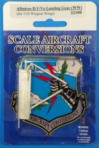 32100  Albatros D.VVa Landing Gear 1